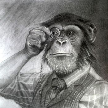 pencil study by cornwainer