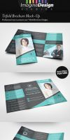 Trifold Brochure Mock-Up by idesignstudio