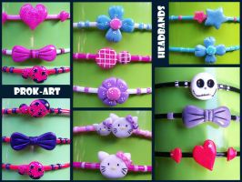headbands designs by prok-art