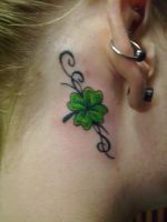 Jennie's clover by QueenMab6