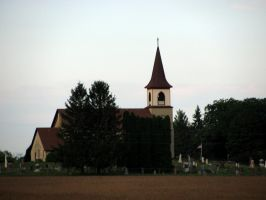 Small Town Church by ZombieModels