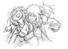 quickie - Jiraiya and Tsunade by Agnet
