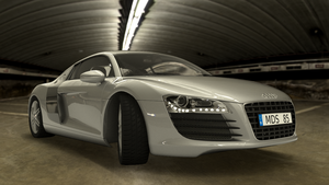 Audi R8 Parking Ramp by Artwork-Production
