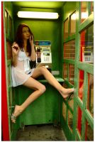 Kathryn - phone booth 5 by wildplaces