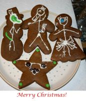 Crap Comics Christmas Cookies by Chessrook44