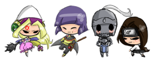 Chibi Batch 2 by Scarydestiny