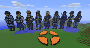 Minecraft - TF2 classes by luk01