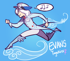 Pokemon OC: Evans the Togekiss by ky-nim
