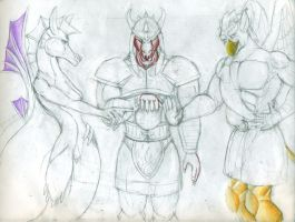 Three titans picture 3 by DracoRex1890