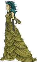 Evening Gown by cheshyre-drops