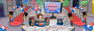 (F2U) Fantage Prom 2016 Castle Room Background by Fario-P