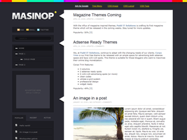 Masinop WordPress Theme by dulcepixels
