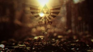 Triforce Wallpaper by Roy2059