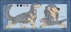 STS Dog- Allison by ShockTherapyStables