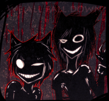 We all fall down by bergrimlo