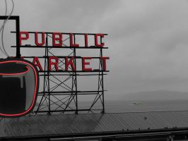 Pike Place Market by pastorgavin