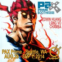 PAX Prime . Aug29 - Sep1, 2014 . Booth 3808 by theCHAMBA