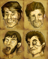 Wanted Dead or Insane by Cique