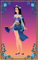 Disney Princess Kitana by minajruby101