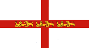 England Flag - Three Lions Passant by Rory-The-Lion