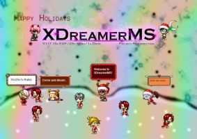 XDreamerMS Happy Holidays! by InfernoDragon0