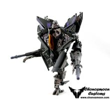 Skywarp Custom Transformer ROTF Starscream by chonosmoon