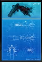 Leviathan Class -  Blueprint by UEGProductions