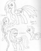 Pony Concepts 1 by BellalyseWinchester