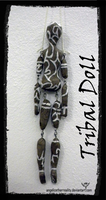 Tribal Doll - back by angelicetherreality