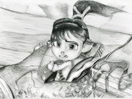 Vanellope - Point of Impact by artistsncoffeeshops