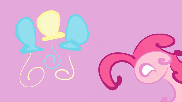 Simplistic Pinkie Pie Background by Teramounger
