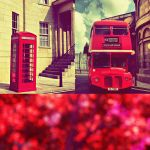Love the red of London by 7oodie