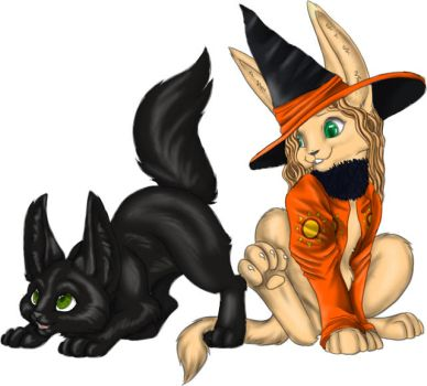 Dani and Binx - Fables by ExLibrisLibrary