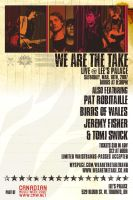 We Are The Take - Flyer 06 by agentfive