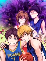 Crossover: KnB ahd GSN: Perfect Copy by Dessa-nya