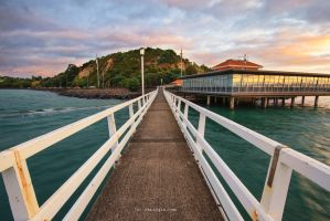 Okahu Bay by chrisgin