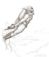 The Rocketeer by ferwar