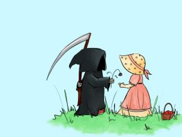 Death and Millie by emy-msm