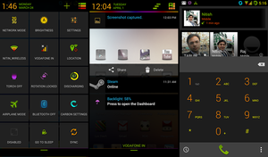 Neon Colors Theme CM11 Update by nitinvaid20