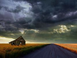 cloudyscene road_hd by ishaque by ishaque87