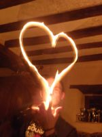 Flame heart by Monochromatiques