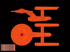 TOS Bridge Plaque Wallpaper by Carthoris