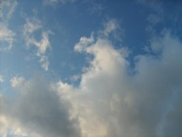 From Below - Clouds - 3 by MystStock