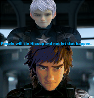 Captain America 2(jack frost and hiccup). by brandonale
