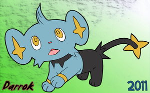 Shinx gift for RedDemonCat by Darrok