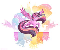 Rainbow Resolve by SambaNeko