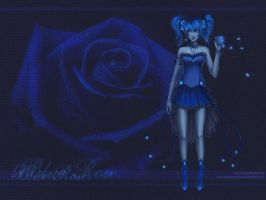 Blue Rose by anikakinka