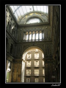 Napoli - Galleria Umberto I 2 by Andrex91