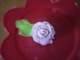 Buttercream Rose by Midnight-Cupcakes