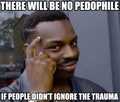 Roll safe about pedophile by achthenuts